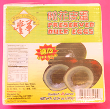 Century Egg Preserved Duck Eggs